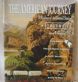 HOMESCHOOL- The American Journey, Vol. 1, U.S. History