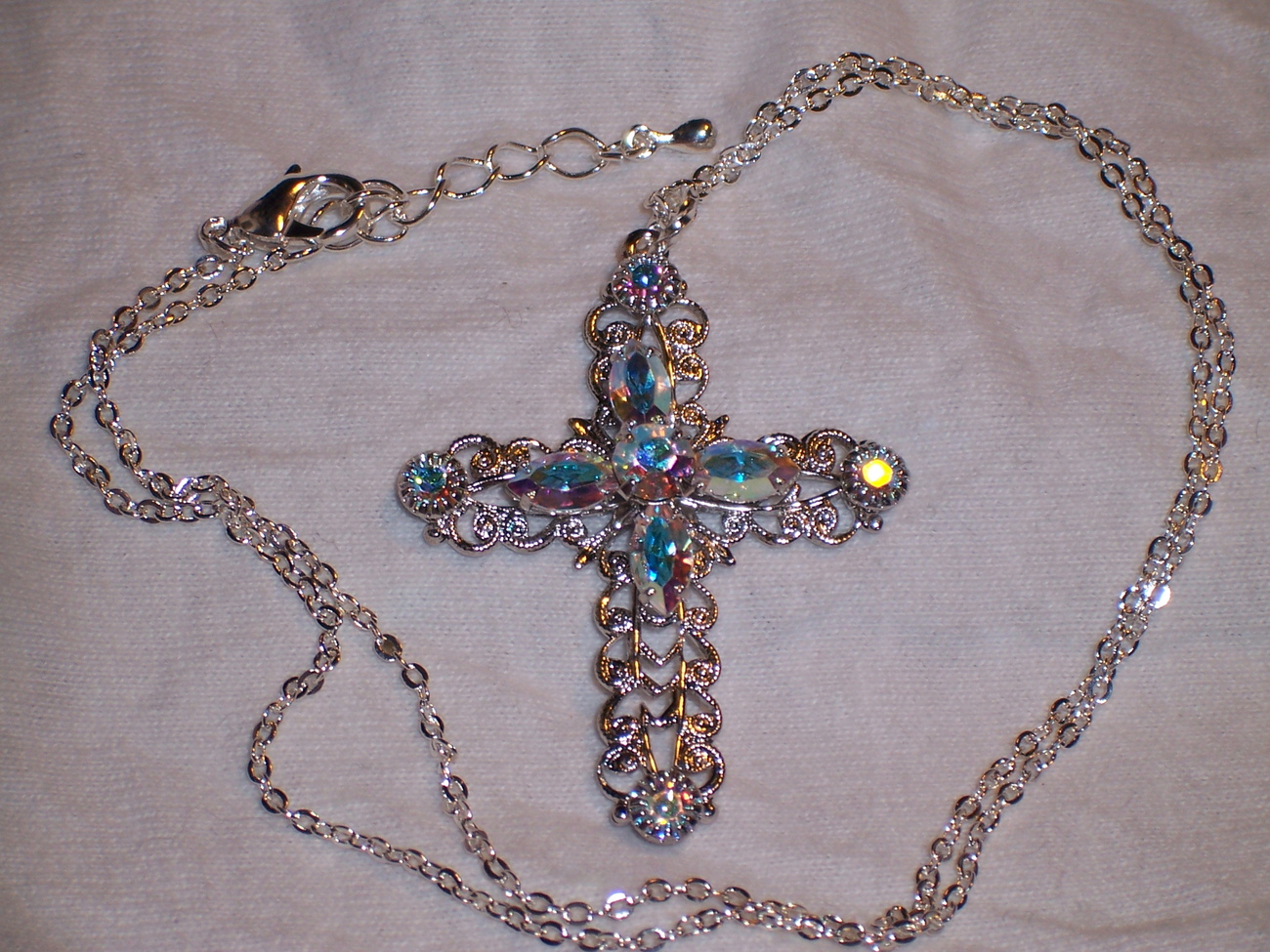 SWAROVSKI CROSS PENDANT NECKLACE - iOffer: A Place to Buy, Sell