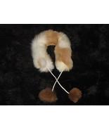 Alpaca fur stola, fur neck scarf,  - €55,46 EUR
