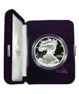 1998 Proof American Eagle Silver Dollar with Or... - $75.00