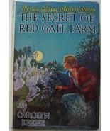Nancy Drew #6 THE SECRET OF RED GATE FARM hcdj ... - $75.00