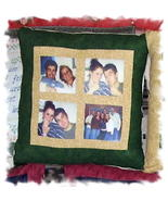 **NEW**Customized 4-Square Photo Pillow* - $40.00