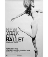 NYC BALLET Poster * JEROME ROBBINS * 2' x 3' Ra... - $60.00