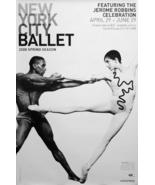NYC BALLET Poster * JEROME ROBBINS * 2' x 3' Ra... - $60.00