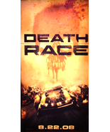 DEATH RACE Movie Poster * JASON STATHAM * GT Mu... - $160.00