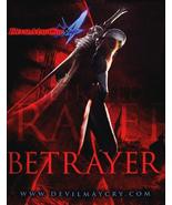 DEVIL MAY CRY 4 Game Poster PSP 2' x 3' Rare NE... - $36.00