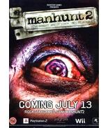 MANHUNT 2 Original Game Poster 4' x 6' Rare 200... - $60.00