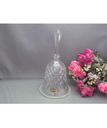 Kristal Za jecar Crystal Glass Bell Made in Yug... - $8.50