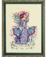 October Opal Fairy MD132   cross stitch chart M... - $12.60