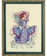 October Opal Fairy MD132  FULL LINEN KIT cross ... - $57.80