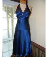 Niki Livas size 6 Blue Cocktail Evening Prom Pa... - $39.99