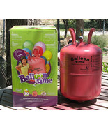 Empty Balloon Time Helium Tank For Crafts - $12.99