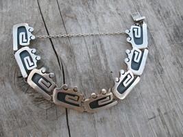 Taxco Romero Bracelet Art Deco sterling silver ... - $200.00