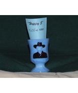 Boyd Crystal Art Glass Hp Hoppy Tpick Holder w/... - $18.95
