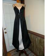 Debut size 7 Black Formal Prom Pageant Cruise M... - $39.99