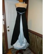 Urban Girl NItes size 3/4 Strapless Black/Blue ... - $34.99