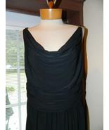 Jones New York Dress size 14 Black Dress Prelov... - $25.99