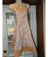 Pink Ribbons size 2 Summer sundress Spaghetti s... - $24.99