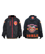 NOBAL Shriner Masonic Mason Windbreaker Jacket ... - $94.99