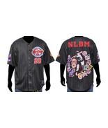 Black Negro League Baseball Jersey NLBM Commemo... - $72.19