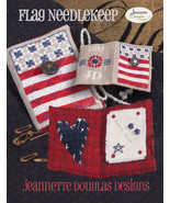 Flag Needlekeep Kit patriotic cross stitch kit ... - $34.20