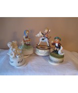 Lot of 4 Vintage Music Boxes -  Each Plays Diff... - $35.00