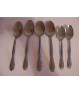 FLATWARE VINTAGE SUPERIOR STAINLESS USA SIX PIE... - $12.00
