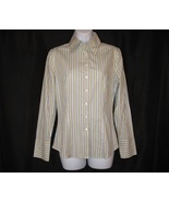 Womens Shirt Top Blouse Career Size 4 Small Str... - $14.99