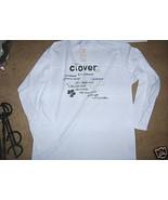 MENS White Long Sleeve T SHIRT Hill Crop Sz L C... - $9.99