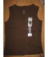 Ladies White Stag Ultra Soft V Neck Tank Top Sh... - $6.99
