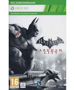 Batman: Arkham City xbox 360 game Full download... - $19.99
