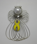 Support Our Troops Yellow Ribbon Angel Ornament... - $8.00