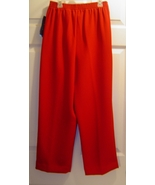 Karen Scott Petites Women's Red Pant Slacks Siz... - $12.95