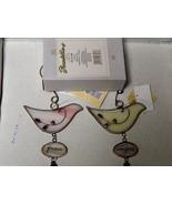 Bird Dove Ornaments 1 Peace & 2 Comfort Enesco ... - $14.84