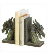 Bookends  mythical fierce dragon guardians 10 ... - $10.98