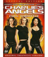 Charlie's Angels Full Throttle DVD Cameron Diaz... - $8.98