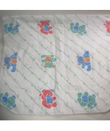 Reigel Teddy Bear Flannel Baby Blanket Vintage ... - $19.99