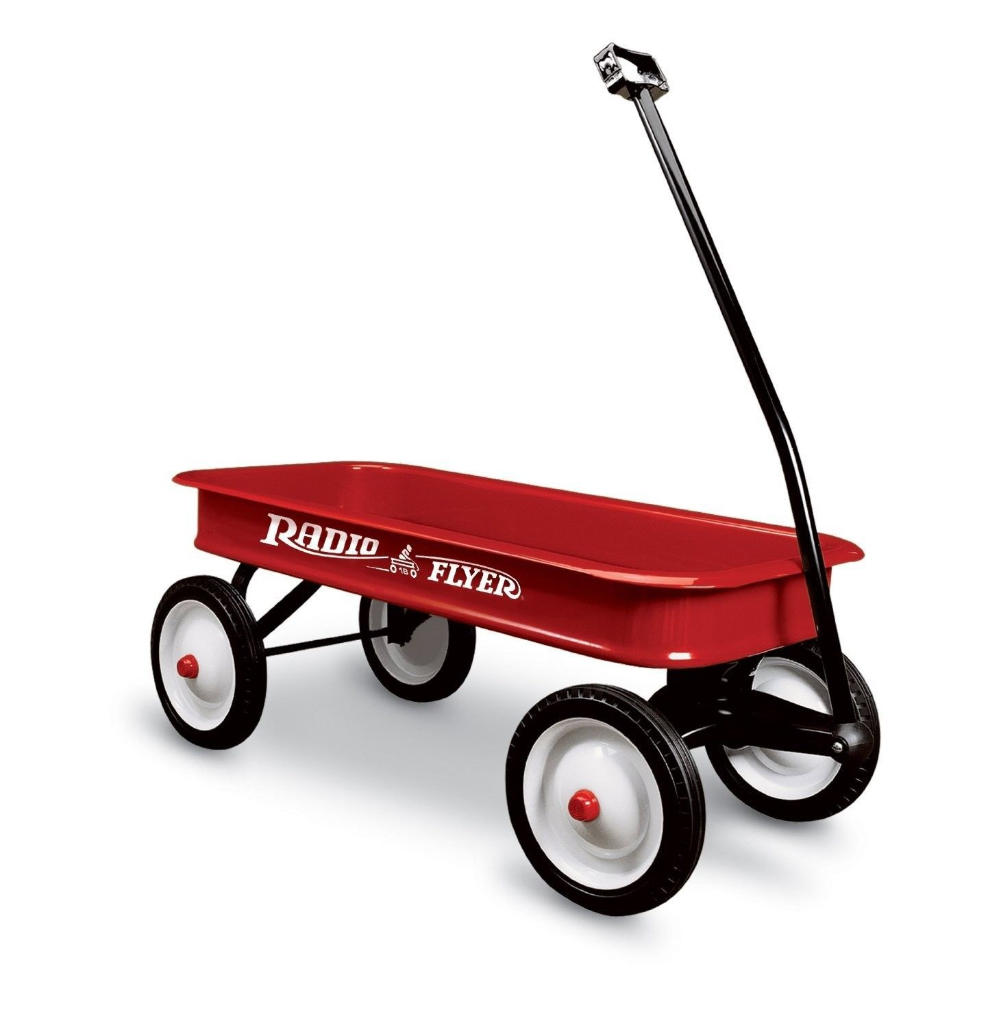 Red wagon for child