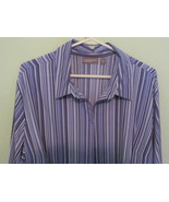 CROFT & BARROW 3X BLOUSE WITH STRETCH - $10.00