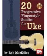 20 Progressive Fingerstyle Studies for Uke/Book... - $12.99