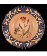 Flora Tulip Decorative Plate Porcelain 8 7/8