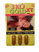 3 KO GoldXT Male Libidio Enhancer Sexual Enhanc... - $99.99