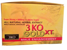 3 KO GoldXT Male Libidio Enhancer Sexual Enhanc... - $269.99