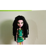 Black Plush Rasta Style Crocheted Monster High ... - $15.00