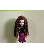 Burgundy Plush Rasta Style Crocheted Monster Hi... - $15.00