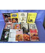 13 Community Church Cookbooks, & Advertising Sp... - $19.99