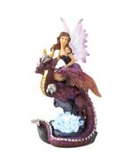 Dragon STEED Rider LED  Fairy  Figurine - $7.95