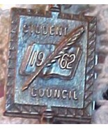 1962 Student Council Pendant Pin - $8.91