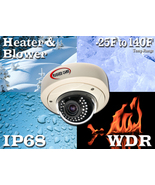 The Defiant-IR Dome  weatherproof camera - $379.99