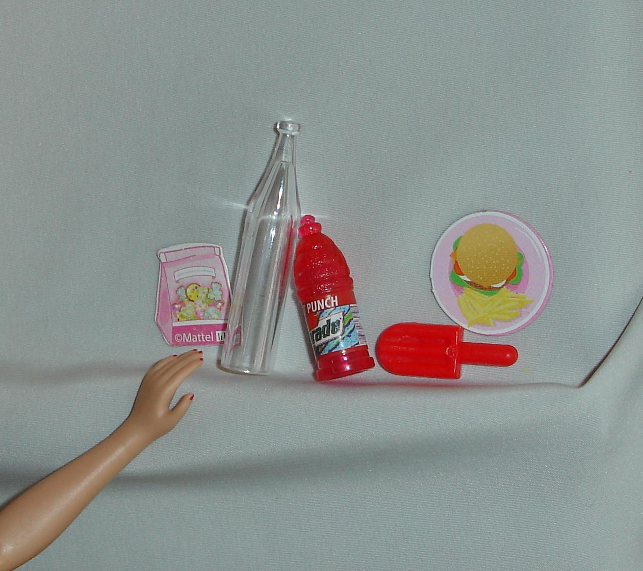 Barbie Kitchen Food Accessories
